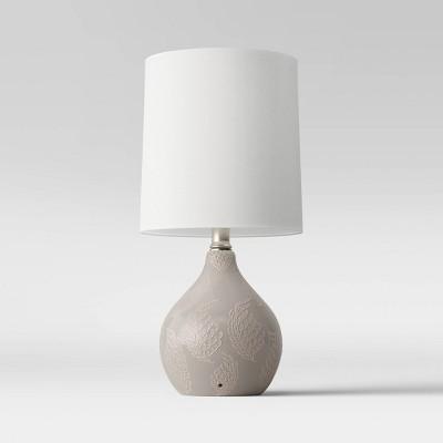 Pattern Ceramic Mini Lamp Gray - Threshold™