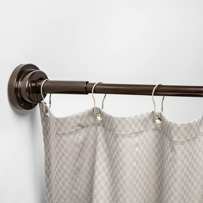 Shower Curtain Rod Target, Tension Shower Curtain Rods Target