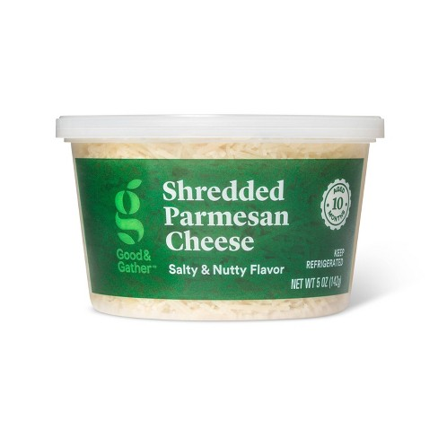Shredded Parmesan Cheese - 5oz - Good & Gather™ - image 1 of 3
