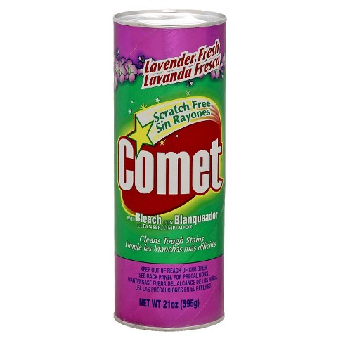 Comet with Bleach Disinfectant Cleanser Scratch Free Lavender Fresh 21 oz - image 1 of 1