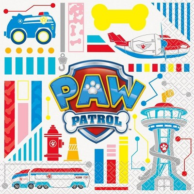 PAW Patrol 16ct Paper Party Napkins