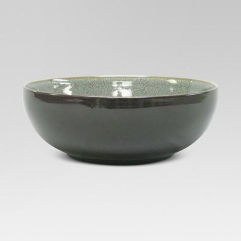Belmont Serving Bowl Stoneware Gray 60oz - Threshold™ - image 1 of 1