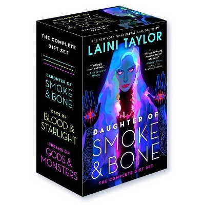 Daughter of Smoke & Bone: The Complete Gift Set - by  Laini Taylor (Paperback)