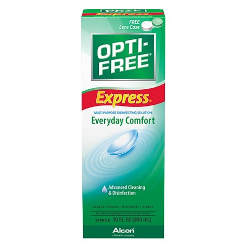 Opti-Free Express Lasting Comfort Contact Lens Solution - image 1 of 2