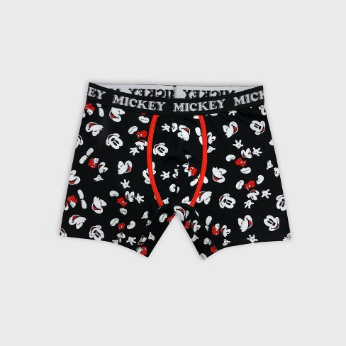 cdd8c0061 Men's Disney Mickey Shadow Toss Hanging Boxer Briefs - Black : Target