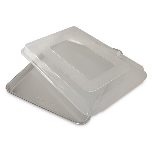 Nordic Ware Natural Aluminum Commercial Baker's Half Sheet with Lid - image 1 of 3