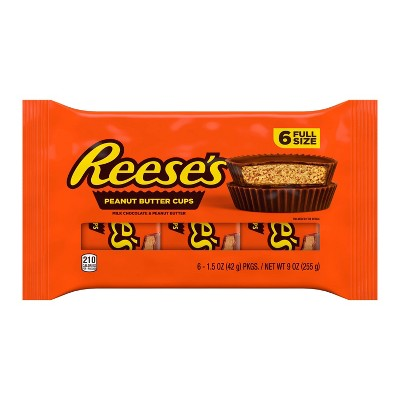 Reese's Peanut Butter Cups - 6ct