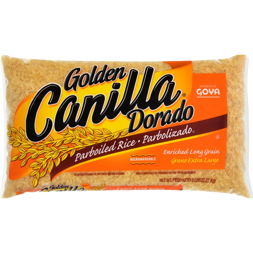 Golden Canilla Parboiled Rice 5 lbs
