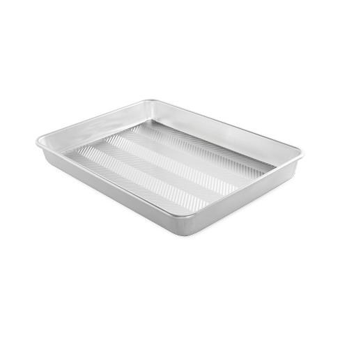 """Nordic Ware Prism 13"""" X 18"""" High-Sided Sheet Cake Pan, Metallic - image 1 of 3"""