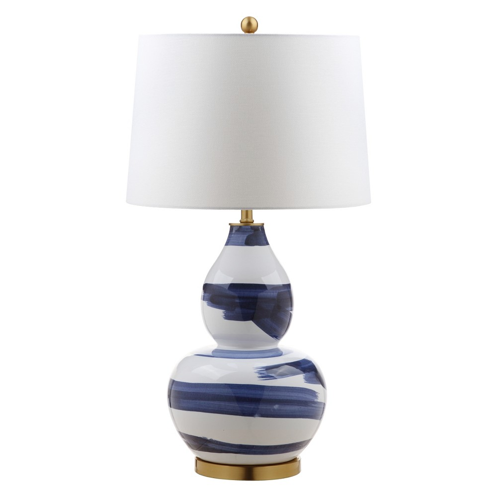 Aileen Table Lamp Blue/White 18