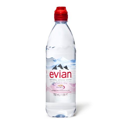 f348fd8d62 Evian Single Serve Natural Spring Water - 750 Ml : Target