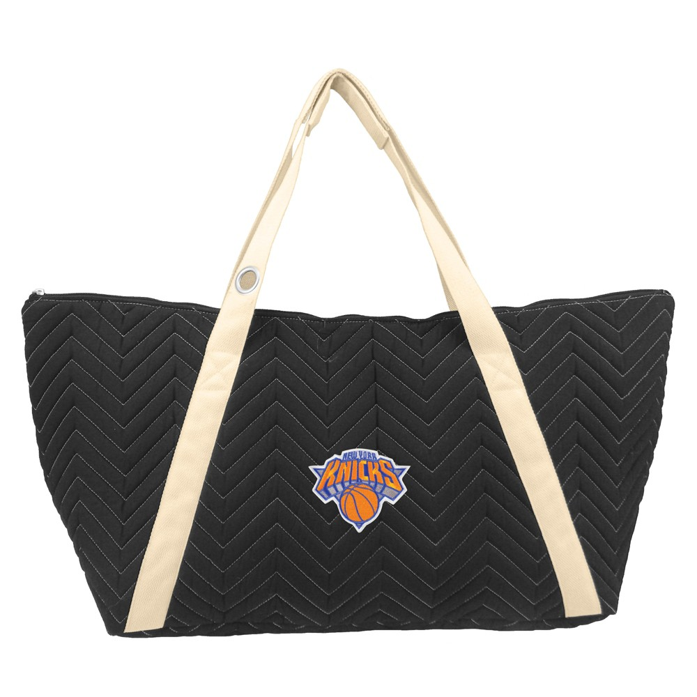 NBA New York Knicks Chev Stitch Weekender Bag