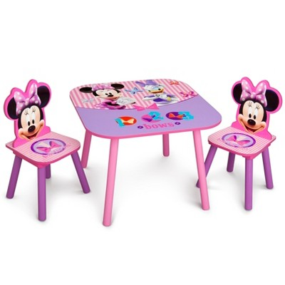 Delta Children Table and Chair - Minnie Mouse