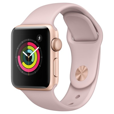 Apple Watch Series 3 (GPS)38mm Aluminum Case Sport Band - Pink Sand