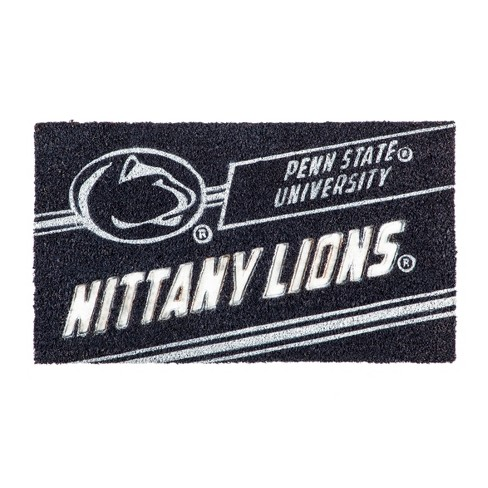 """NCAA Penn State Nittany Lions Rubber Door Mat 14""""x 30.5"""" - image 1 of 1"""