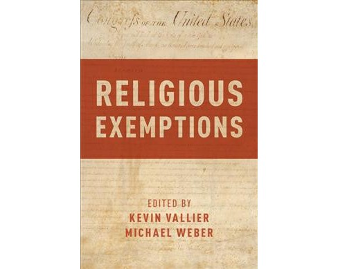 Religious Exemptions -  (Hardcover) - image 1 of 1