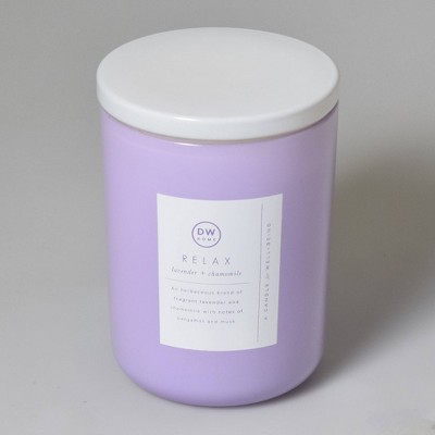 16oz Wellness Spa/Relax Lavender and Chamomile Candle - DW Home