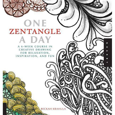 One Zentangle a Day - (One a Day) by  Beckah Krahula (Paperback) - image 1 of 1