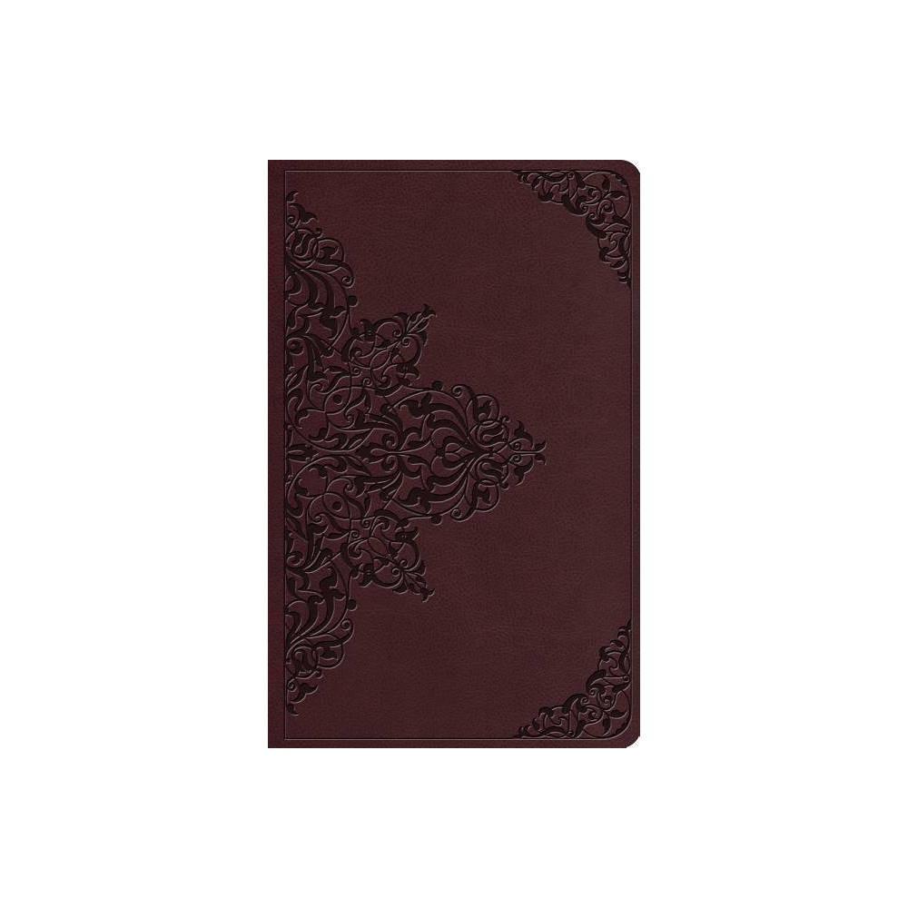 Esv Value Thinline Bible Trutone Chestnut Filigree Design Leather Bound