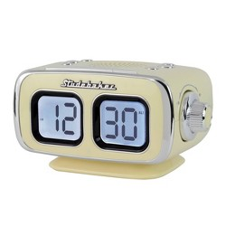 Studebaker Retro Digital Bluetooth AM/FM Clock Radio (SB3500CR) - Cream
