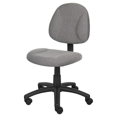 Deluxe Posture Chair Gray - Boss Office Products