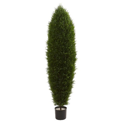 "Cypress Tree UV Resistant (Indoor/Outdoor) - Green (5"") - image 1 of 3"