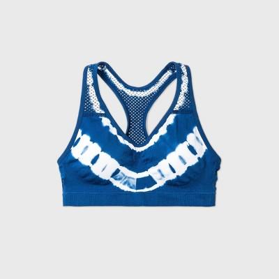 Maidenform Girls' Tie-Dye Sports Bra - Navy