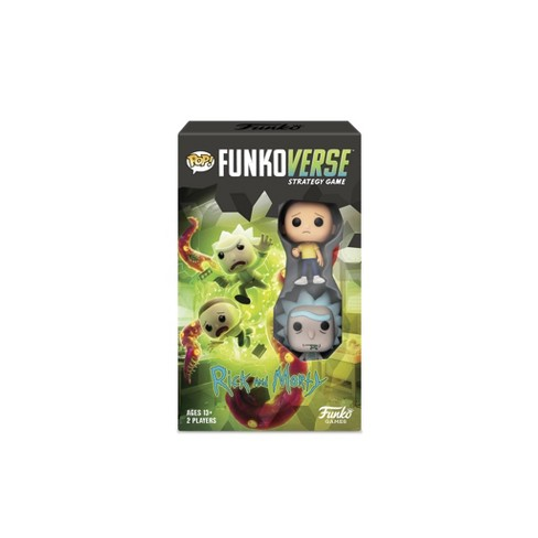 POP! Funkoverse Board Game: Rick and Morty #100 Expandalone - image 1 of 4