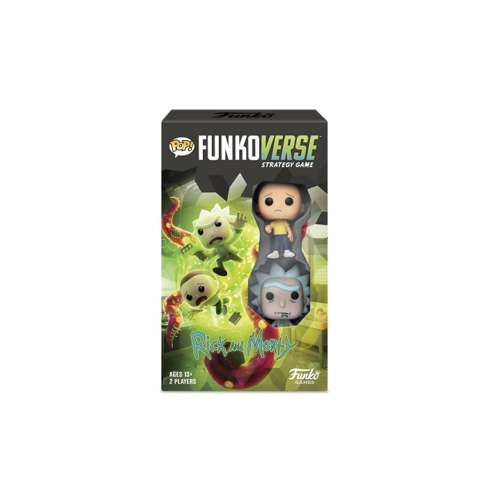 Funkoverse Board Game: Rick and Morty #100 Expandalone - image 1 of 8