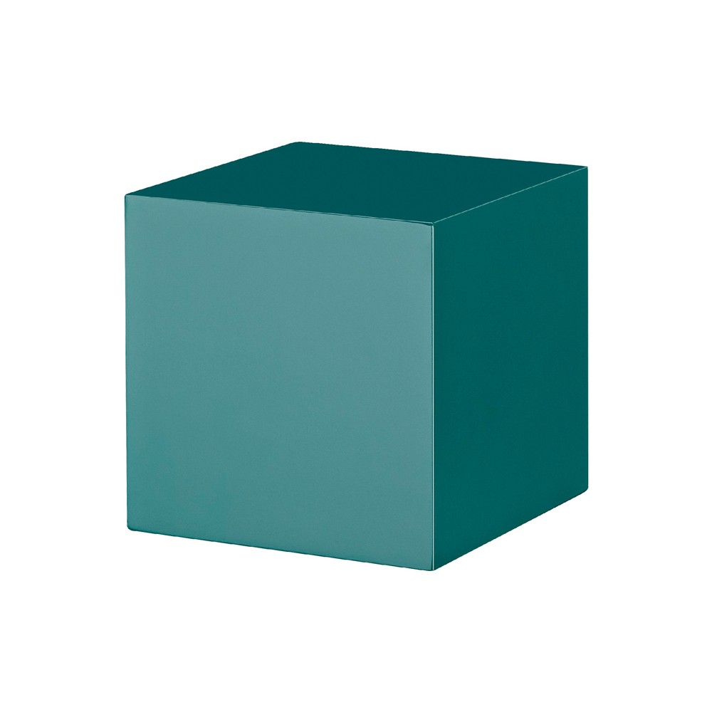 Image of Dolle Dado Floating Cube Wall Shelf - Teal, Blue
