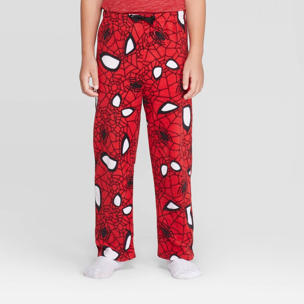 Image of Boys' Spider-Man Pajama Pants - Red 4, Boy's