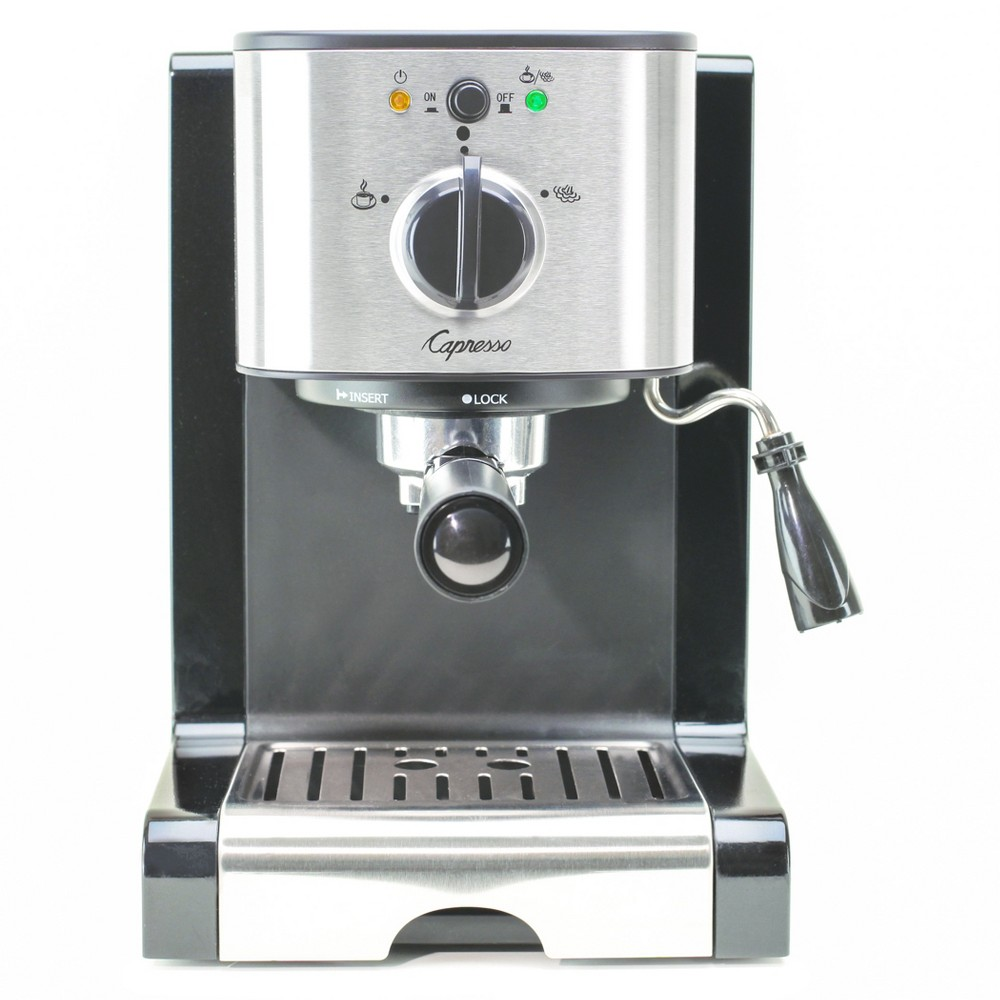 Image of Capresso EC100 Pump Espresso & Cappuccino Machine Stainless Steel 116.04