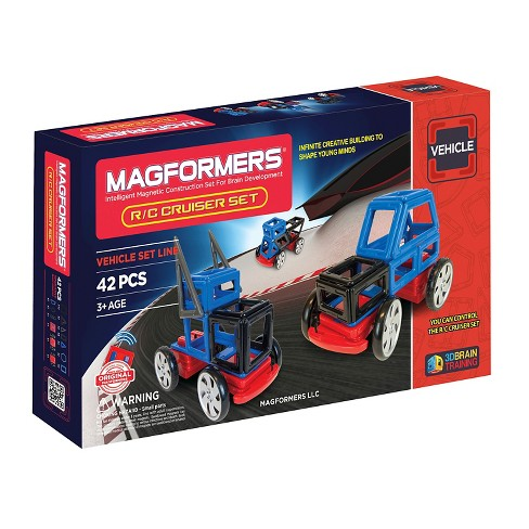 Magformers R/C Cruisers 42 PC Set - image 1 of 4