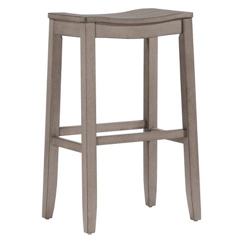 "Fiddler Backless 24"" NonSwivel Counter Stool Aged Gray - Hillsdale Furniture - image 1 of 3"