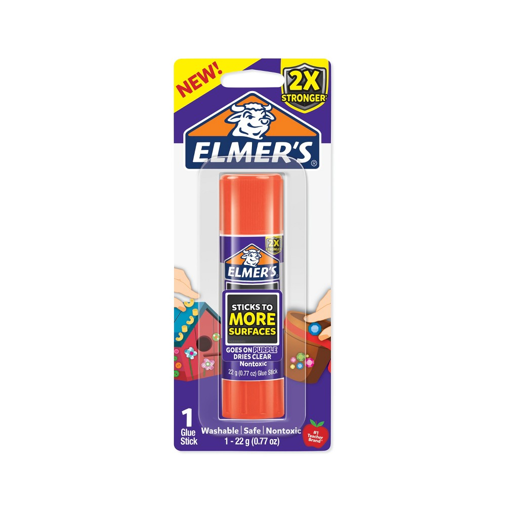 Image of Elmer's 1ct 22g Extra Strength Glue Stick