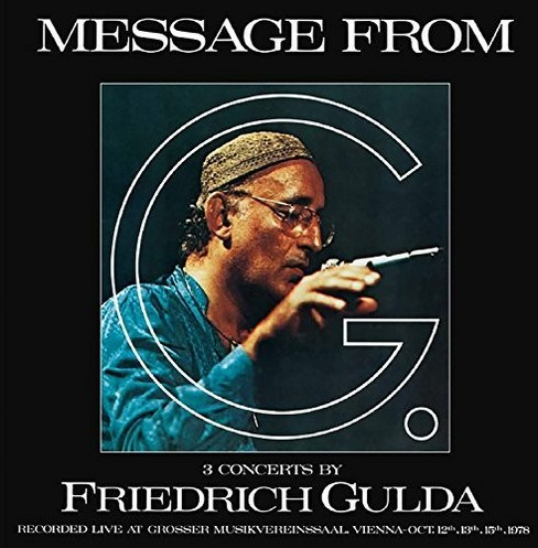 Ursula Anders - Gulda:Message From G (CD) - image 1 of 1