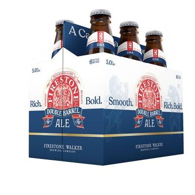 Firestone Walker DBA Double Barrel Ale Beer - 6pk/12 fl oz Bottles