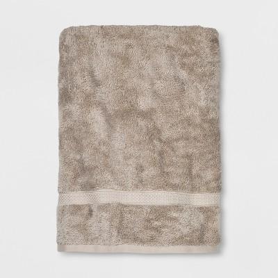 Perfeclty Soft Solid Bath Sheet Sandalwood Tan - Opalhouse™