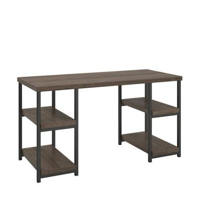 Meyers Desk Weathered Oak - Room & Joy