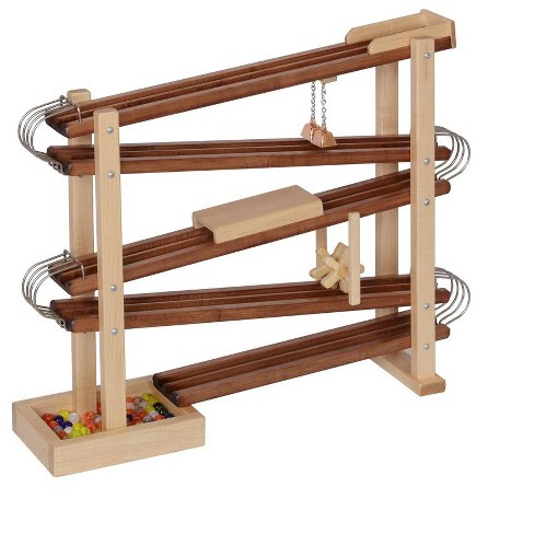Remley Kids Wooden Marble Flyer - Marbles included - image 1 of 4