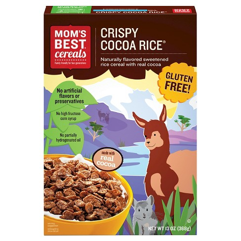 MOM's Best Crispy Cocoa Rice Breakfast Cereal - 13oz - image 1 of 2