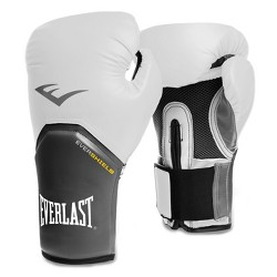 Everlast Pro Style Elite 12oz Training Boxing Gloves - White