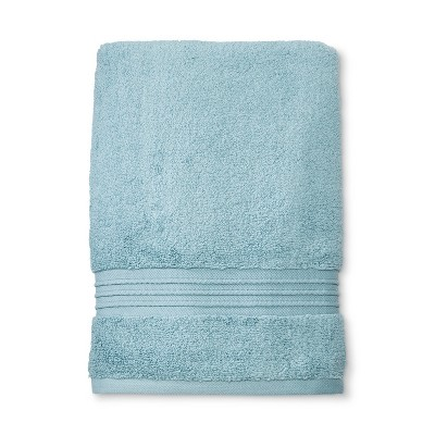 Spa Stripe Bath Towel Aqua - Fieldcrest®