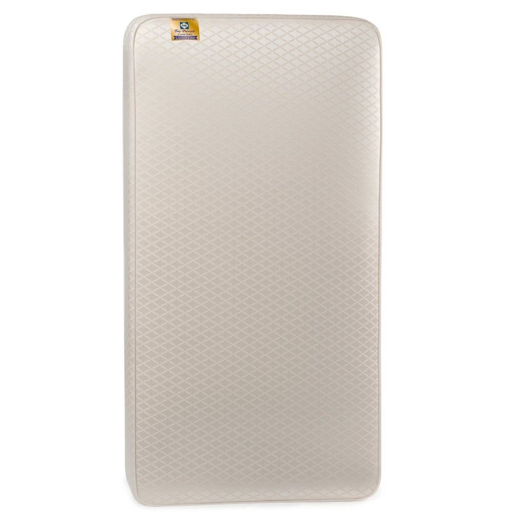 Sealy Baby Posturepedic Crown Jewel Luxury Firm Crib and Toddler Mattress