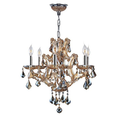 "World Wide Lighting Ceiling Light - Silver/Gold (20"") - image 1 of 1"