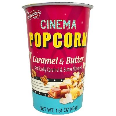 Shirakiku Cinema Caramel Butter Popcorn  - 1.51oz