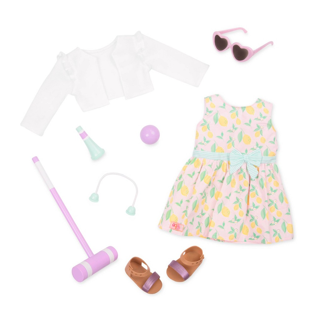 Our Generation Deluxe Outfit for 18 Dolls - Croquet Play