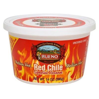 Bueno Frozen Medium Hot Special Reserve Red Chili - 14oz