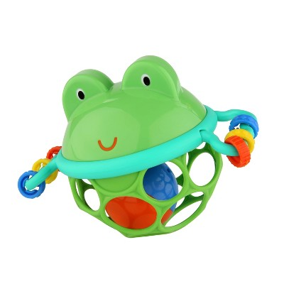 Oball Jingle & Shake Pal Easy-Grasp Rattle Toy