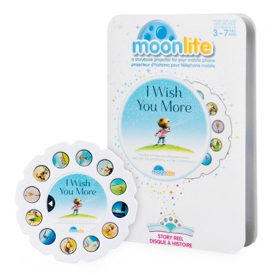 Moonlite - I Wish You More Story Reel for Moonlite Storybook Projector, for Ages 3 and Up